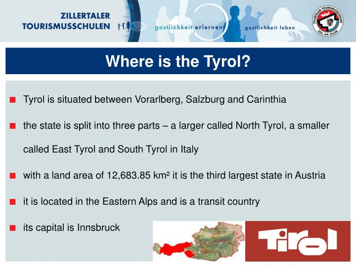 Where is the tyrol