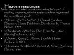heaven resources