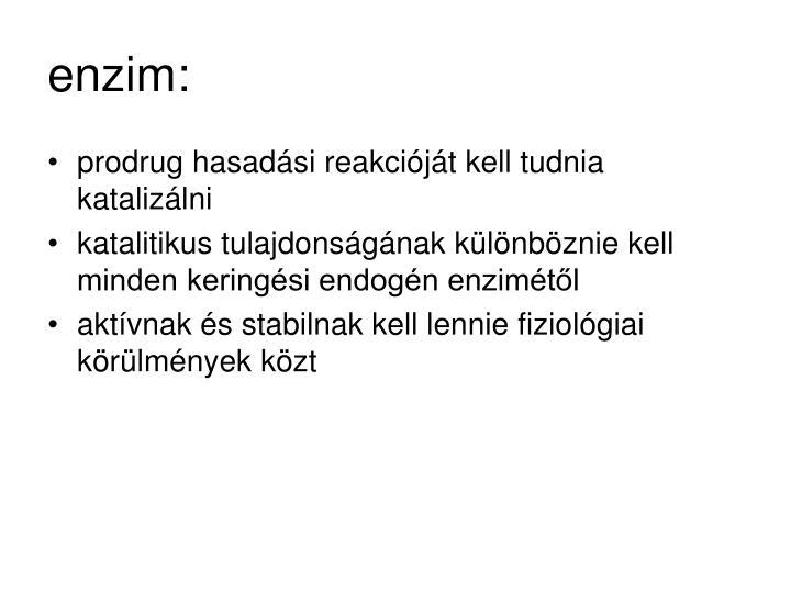 enzim: