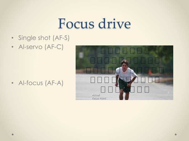 Focus drive