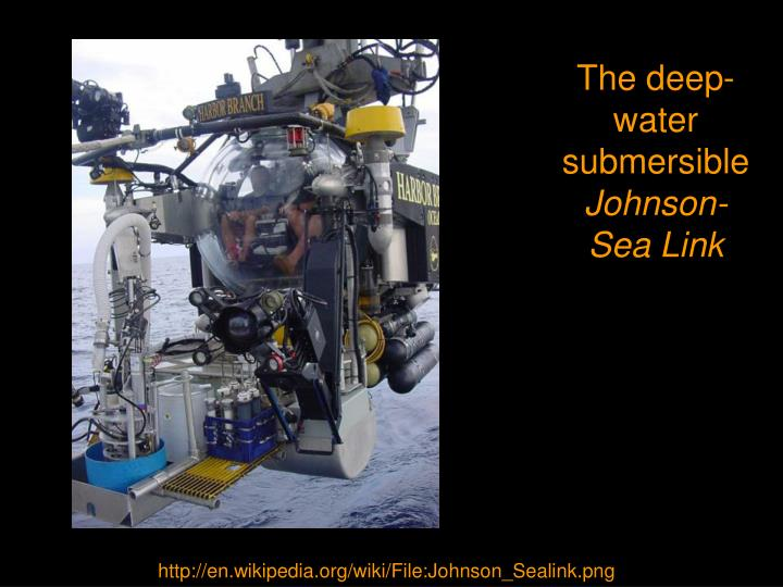 The deep-water submersible