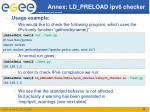 annex ld preload ipv6 checker1