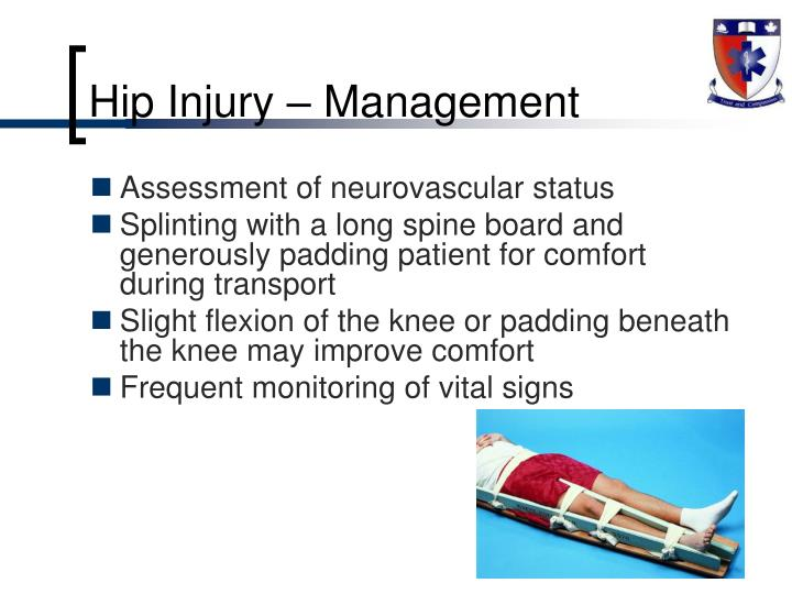 Hip Injury – Management
