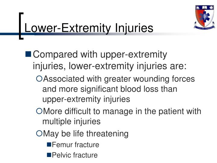Lower-Extremity Injuries