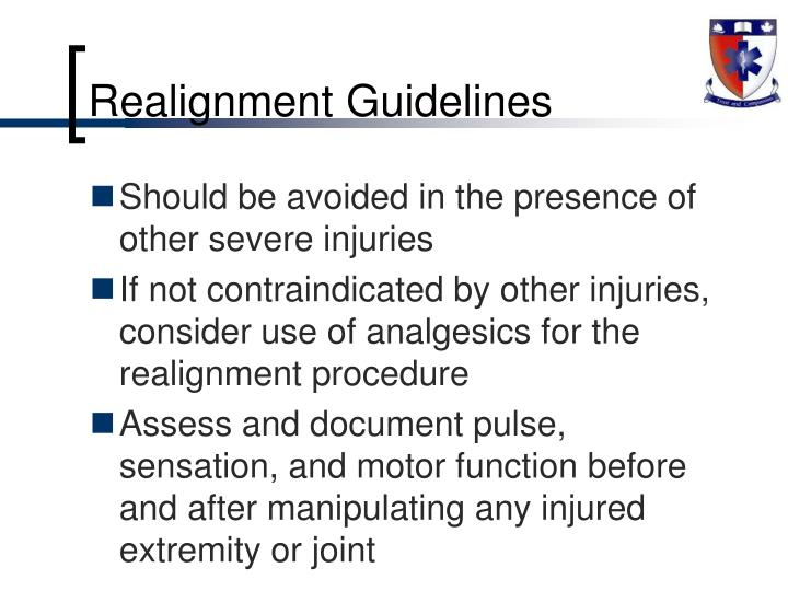 Realignment Guidelines