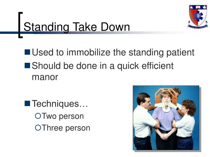 Standing Take Down