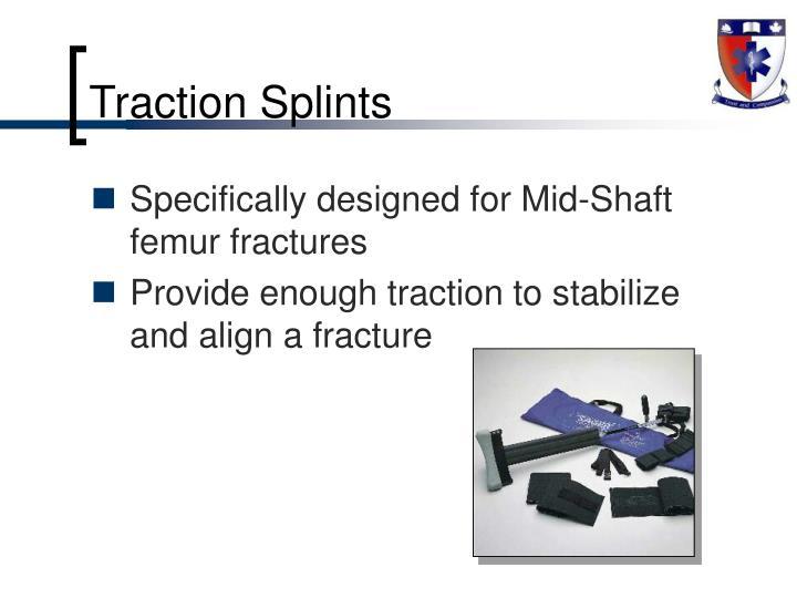 Traction Splints