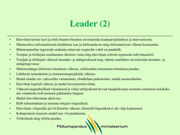 Leader (2)