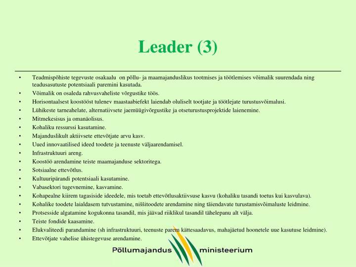 Leader (3)