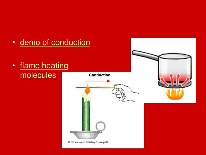 demo of conduction