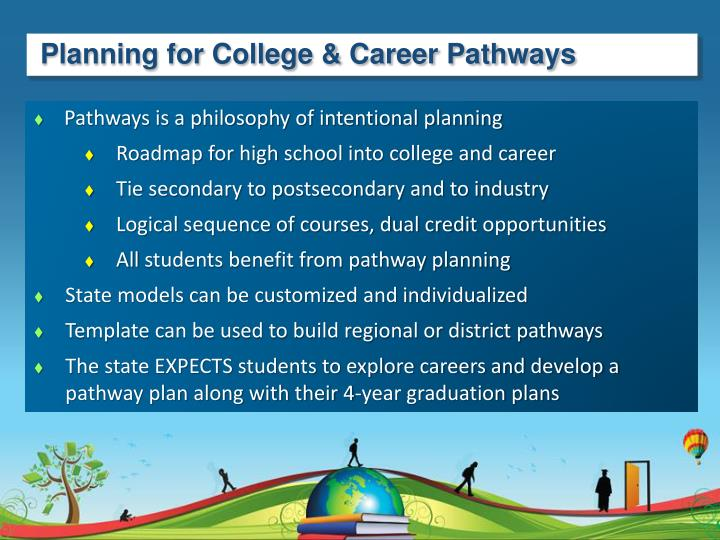Planning for College & Career Pathways