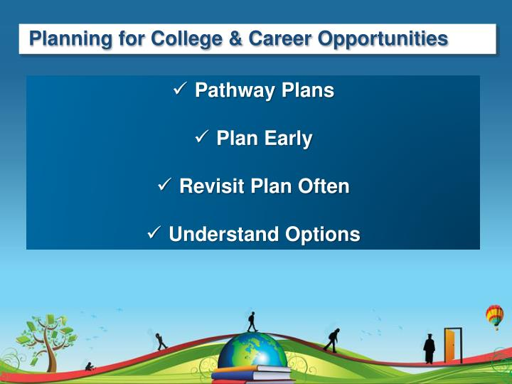 Planning for College & Career Opportunities