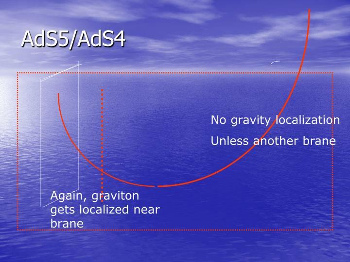 AdS5/AdS4