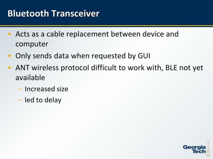 Bluetooth Transceiver