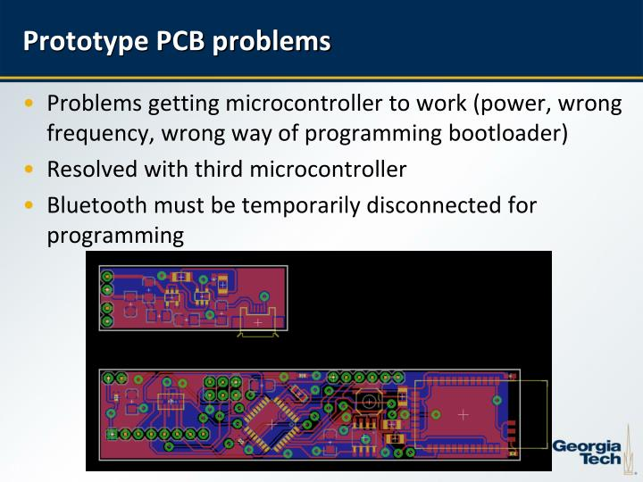 Prototype PCB problems
