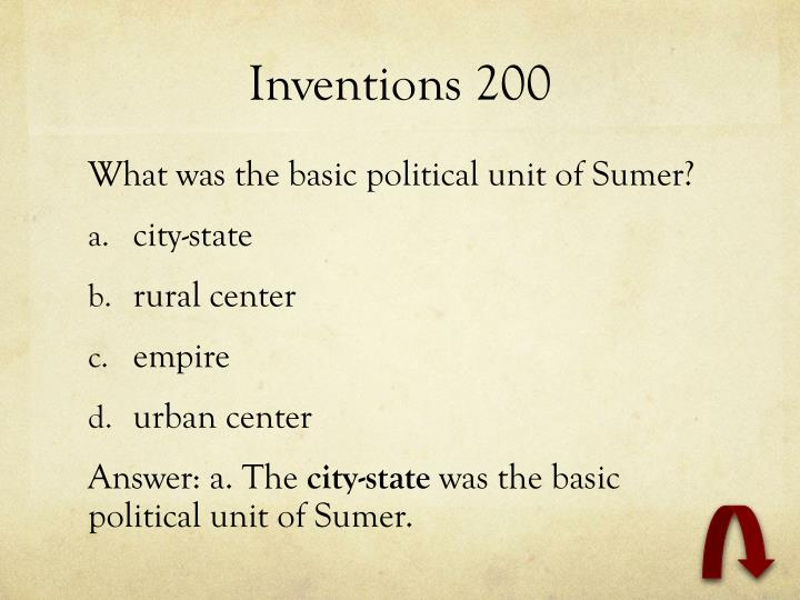 Inventions 200