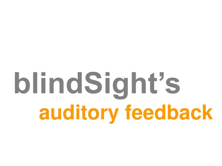 blindSight's