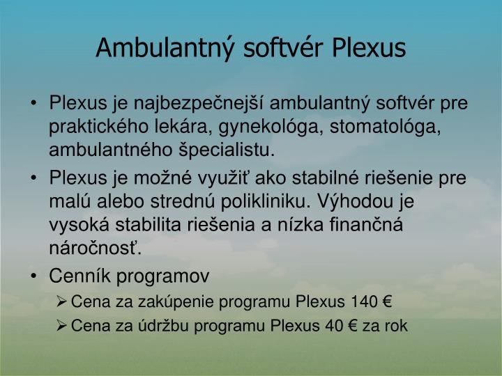 Ambulantný softvér