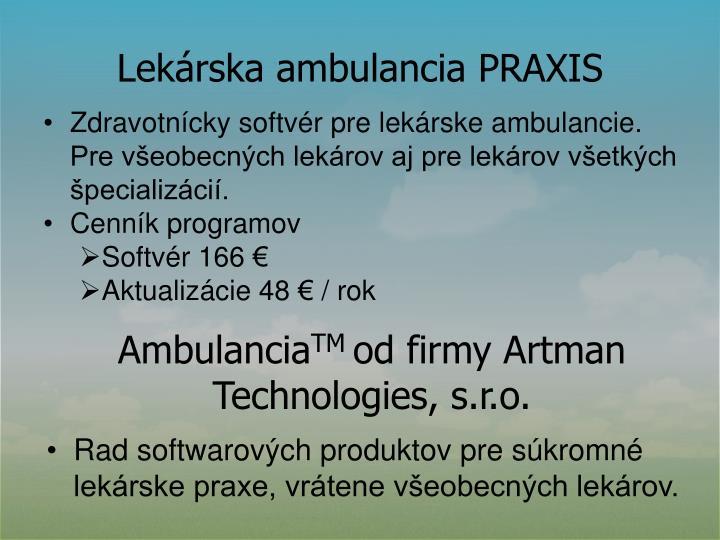Lekárska ambulancia