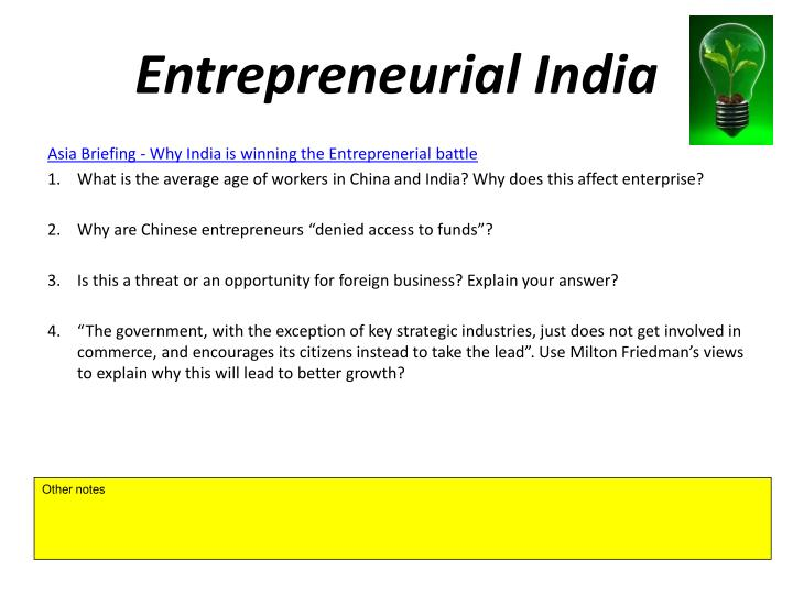 Entrepreneurial India