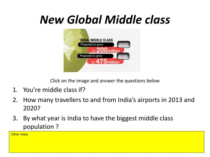 New Global Middle class