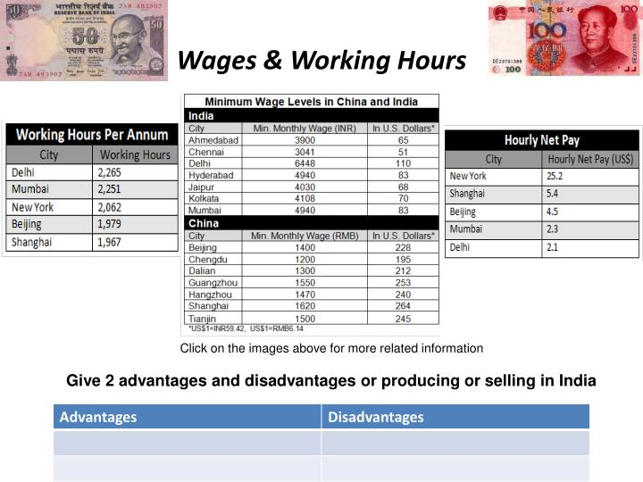 Wages & Working Hours