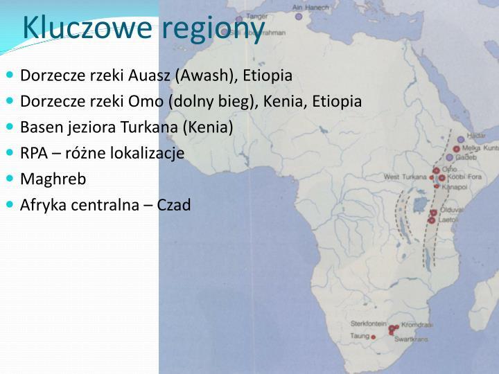 Kluczowe regiony