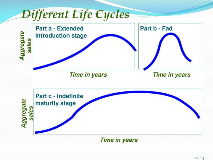 Different Life Cycles