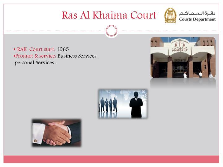Ras Al Khaima Court