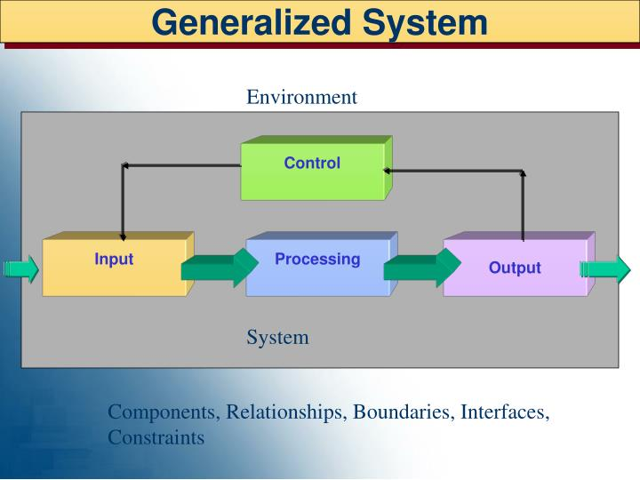 Generalized System