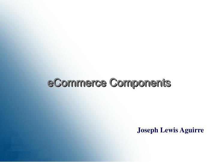 eCommerce Components