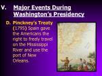 major events during washington s presidency3
