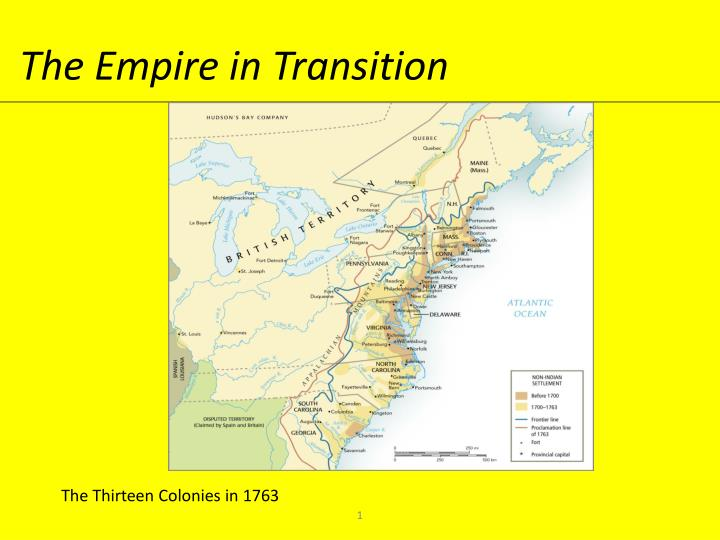 The empire in transition