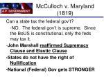mcculloch v maryland 18192