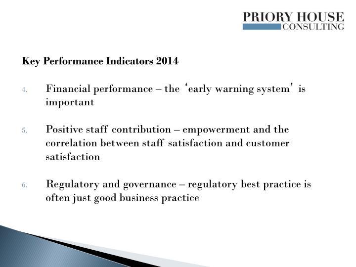 Key Performance Indicators 2014
