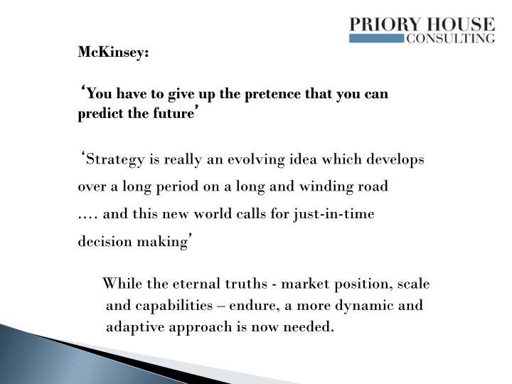 McKinsey: