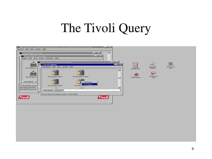 The Tivoli Query