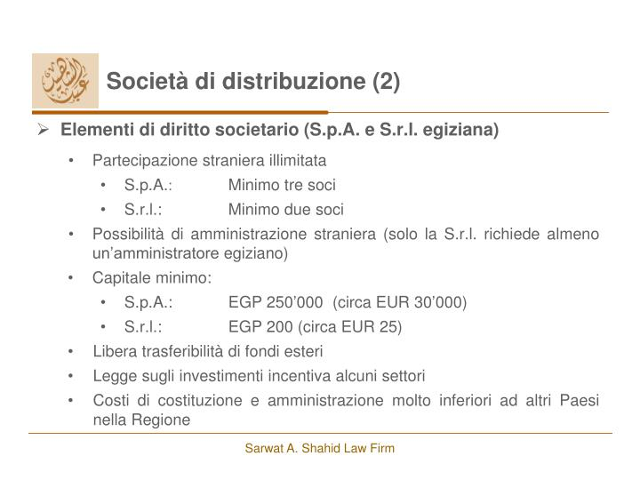 Società di distribuzione (2)