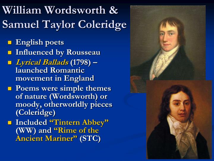 William Wordsworth &