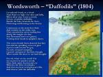 wordsworth daffodils 1804