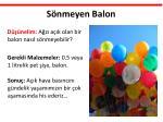 s nmeyen balon