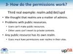 3 how do the permissions work4