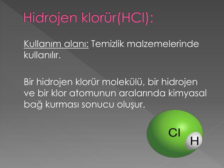 Hidrojen klorür(