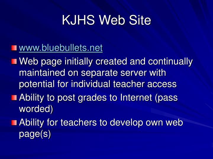 KJHS Web Site
