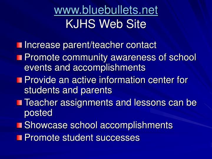 www.bluebullets.net