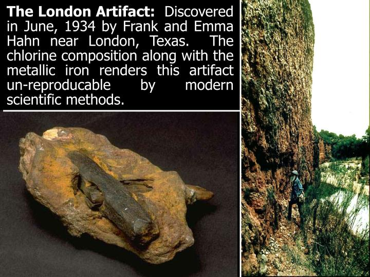 The London Artifact: