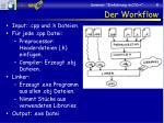 der workflow