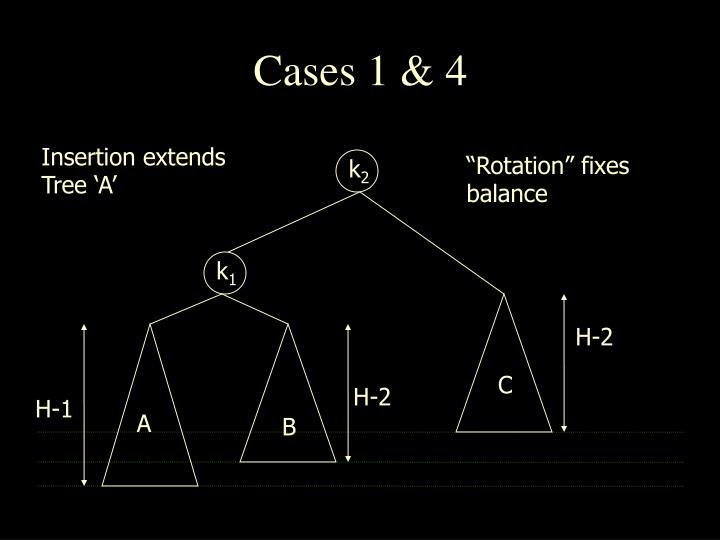 Cases 1 & 4