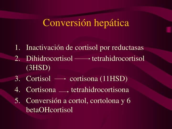 Conversión hepática