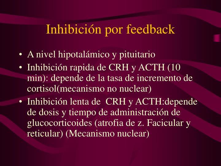 Inhibición por feedback